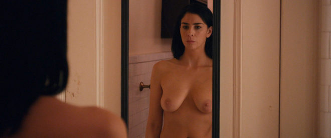 Sarah Silverman naked showing her breasts in 'I Smile Back ...