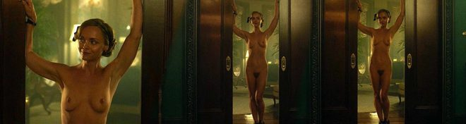 Christina Ricci desnuda integral lo muestra todo en 'Z: The Beginning of Everything'