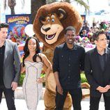 David Schwimmer, Jada Pinkett-Smith, Chris Rock y Ben Stiller en el Festival de Cannes 2012