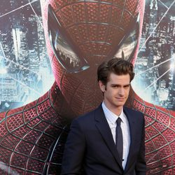 Andrew Garfield en la premiére 'The Amazing Spider-Man' en Los Angeles