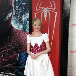Emma Stone en la premiére de 'The Amazing Spider-Man' en Los Angeles