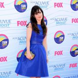 Zooey Deschanel en los Teen Choice Awards 2012