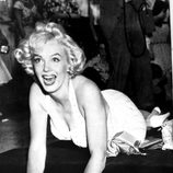 Marilyn Monroe deja sus huellas en Hollywood