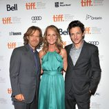 William H. Macy, Helen Hunt y John Hawkes en el TIFF 2012