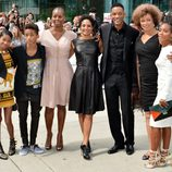 Will Smith y su familia en el TIFF 2012