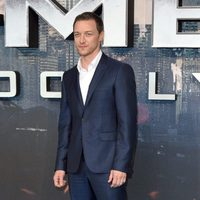 James McAvoy en la premiere en Londres de 'X-Men: Apocalipsis'
