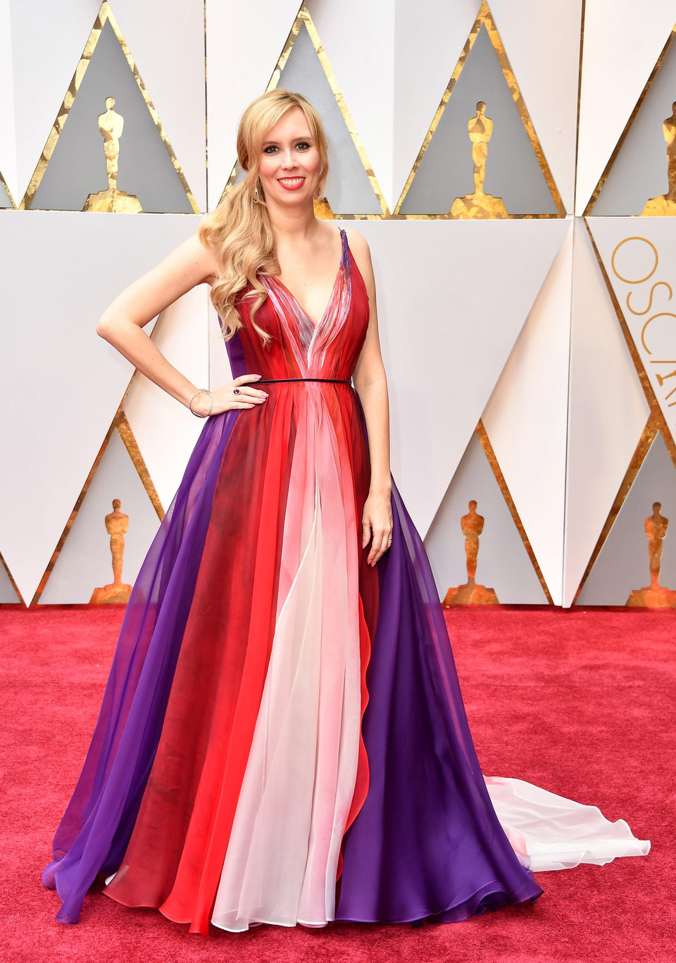 Image result for Allison Schroeder oscars 2017