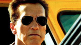 Cartel definitivo de 'The Last Stand' con Arnold Schwarzenegger y Johnny Knoxville