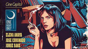 Elena Anaya es Uma Thurman en el cartel del 'remake' español de 'Pulp Fiction'