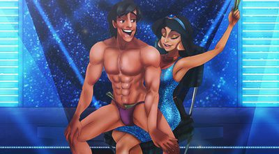 Del cuento al local de striptease: Los príncipes Disney se desnudan a lo 'Magic Mike'