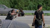 'The Walking Dead' 7x09 Escena del cable