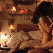 Salma Hayek y Antonio Banderas en una escena de sexo de 'Desperado'