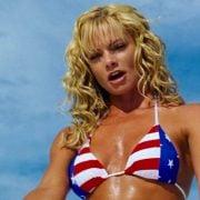 Jaime Pressly en bikini en una escena de la adaptación de 'DOA: Dead or alive'