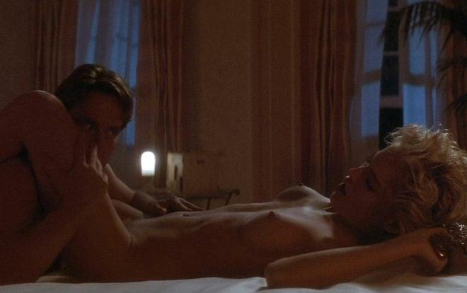 Michael Douglas y Sharon Stone en una escena de 'Instinto Básico'