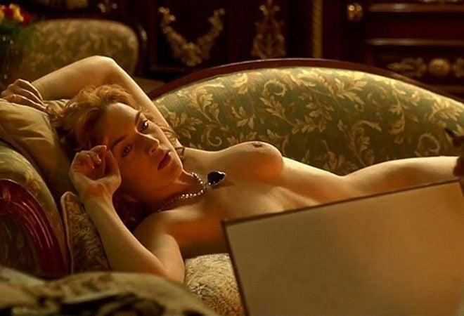 Kate Winslet posa desnuda para Leonardo DiCaprio en 'Titanic'