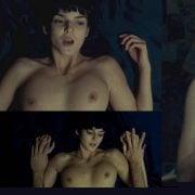 María Adánez Completamente Desnuda Enseñando Las Tetas En Un Escena