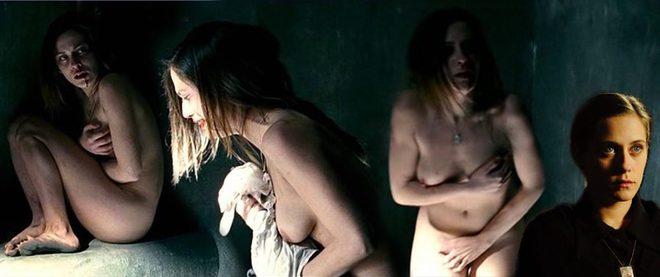 María León Desnuda Integral Muestra Las Tetas En La Voz Dormida
