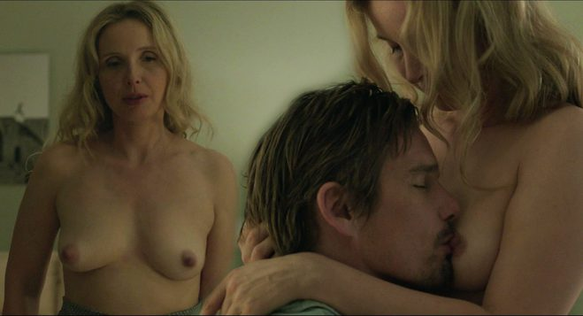 Julie Delpy Naked Shows Her Tits And Makes Sex In Before Midnight