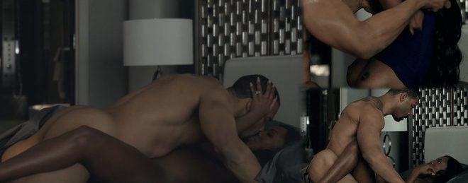 Omari Hardwick And Naturi Naughton Totally Naked Show His -3638