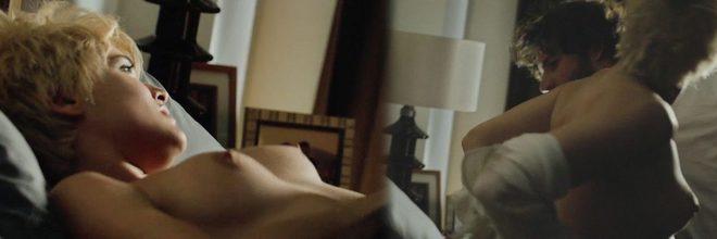 Adriana Ugarte desnuda muestra las tetas en 'Julieta'