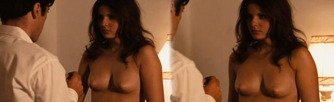 Simonetta Stefanelli naked shows her boobs in 'The Godfather'