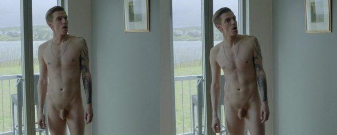 Bjorn Stefansson desnudo en 'Case'