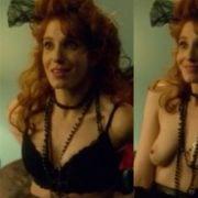 Gwen Hollander shows her tits in 'Future Man'