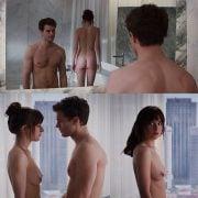 Dakota Johnsonn naked in 'Fifty Shades of Grey'