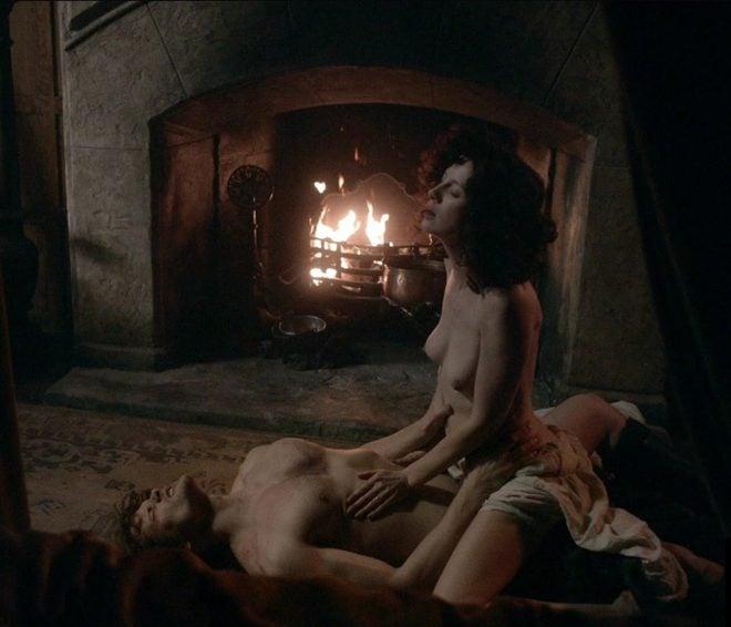 Jamie y Claire tienen sexo en 'Outlander'