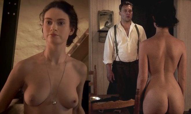 Lily James Se Desnuda En El último Beso Del Káiser En Ecartelera
