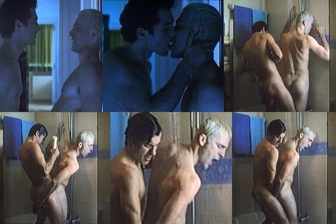 Lesbians squirting in the shower