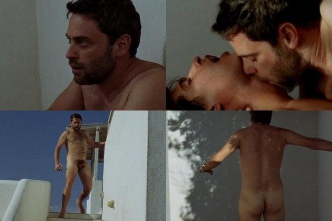 Massimo Poggio, desnudo, enseña el pene y tiene sexo gay en 'Il Compleanno'