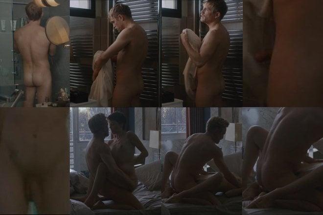 Jérémie Renier, completamente desnudo, enseña el pene en 'El amante doble'