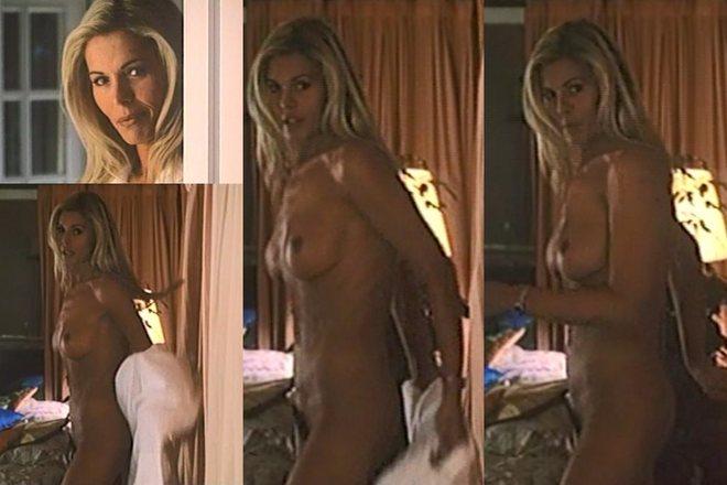 Bibiana Fernández, completamente desnuda, en 'Más que amor, frenesí'