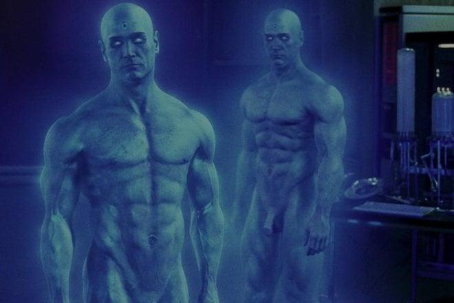 Billy Crudup, desnudo integral en 'Watchmen'