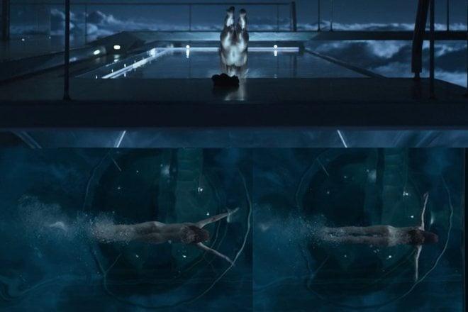 Andrea Riseborough, desnudo integral en 'Oblivion'