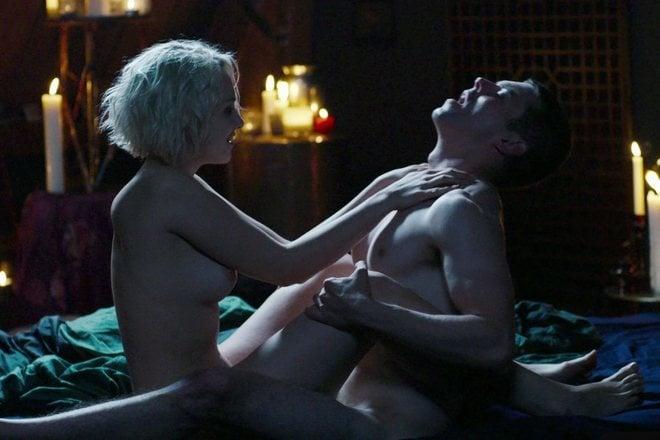 Max Riemelt y Tuppence Middleton, escena de sexo en 'Sense 8'