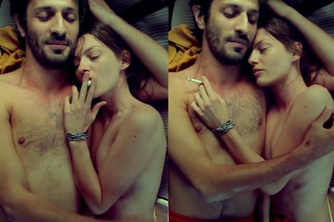 Amélie Daure y David Kamennos, desnudos en 'Fragments of a Standstill Journey'