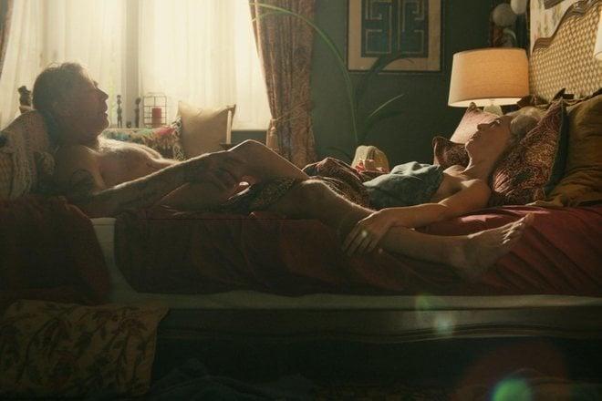 Gillian Anderson and Mikael Persbrandt, sex scene in 'Sex Education'