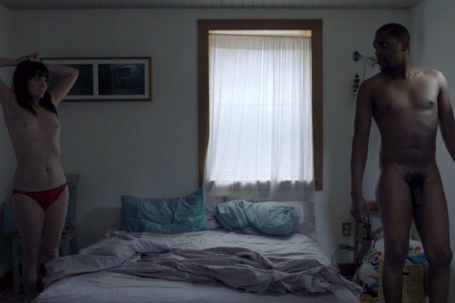 Amber Stonebraker and Al'Jaleel McGhee, full nudity in 'Sex Weather'