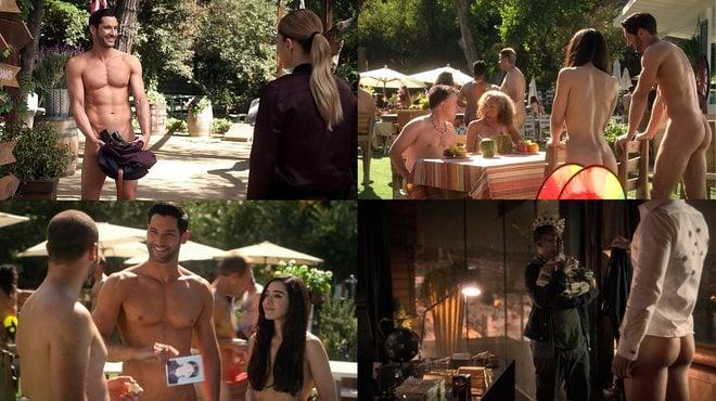 Tom Ellis se desnuda y enseña el culo en la cuarta temporada de 'Lucifer'