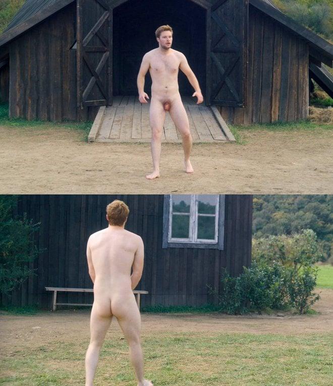 Jack Reynor desnudo enseña el pene y el culo en 'Midsommar'