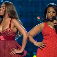 Beyonce Knowles y Jennifer Hudson