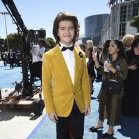 Gaten Matarazzo at the Emmys 2018 red carpet