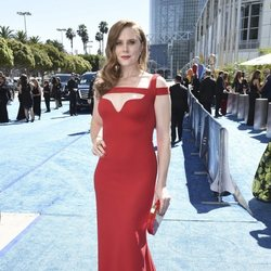 Christiane Seidel en la alfombra roja de los Emmy 2018