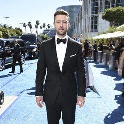 Justin Timberlake en la alfombra roja de los Emmy 2018