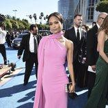Thandie Newton en la alfombra roja de los Emmy 2018