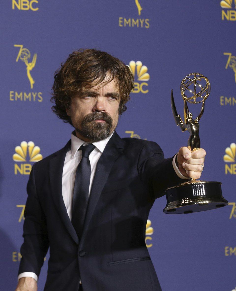 Peter Dinklage, Emmy a Mejor actor de reparto de serie drama por 'Juego de Tronos'