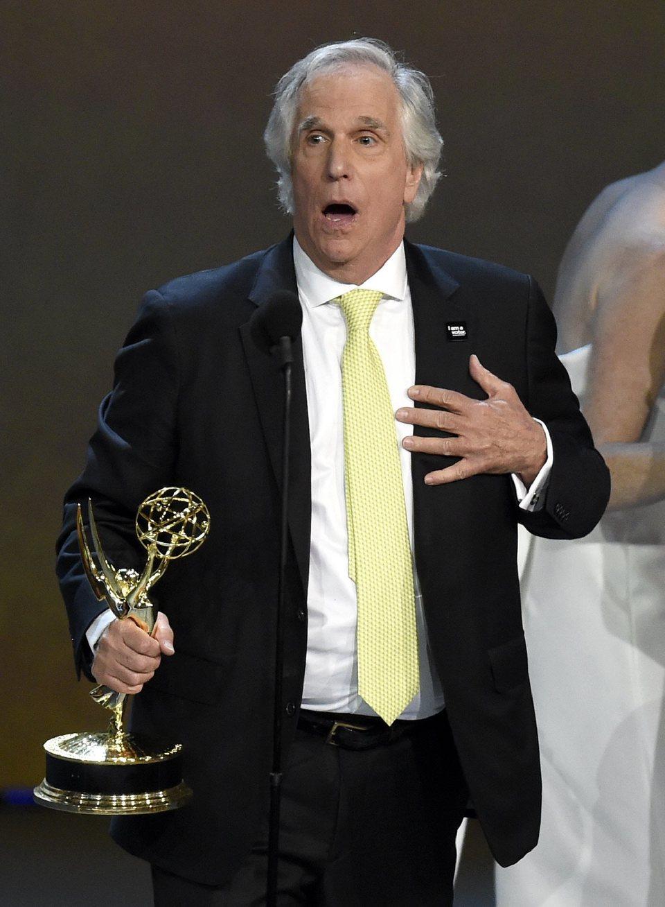 Herny Winkler, Emmy a Mejor actor de reparto de una serie de comedia por 'Barry'