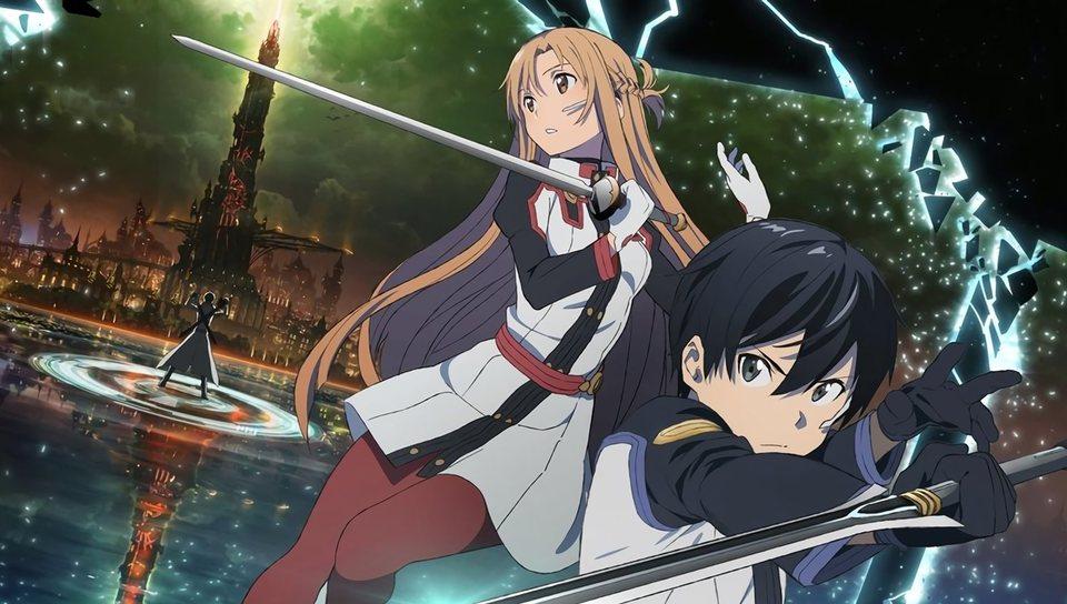 Sword Art Online, la película: Ordinal Scale, fotograma 1 de 12